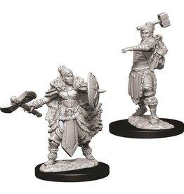 WizKids D&D NM: Female Half-Orc Barbarian