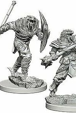 WizKids Dungeons & Dragons Nolzur's Marvelous Miniatures: Wave 5 Dragonborn Male Fighter with Spear