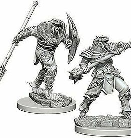 WizKids D&D NM: Dragonborn Male Fighter with Spear