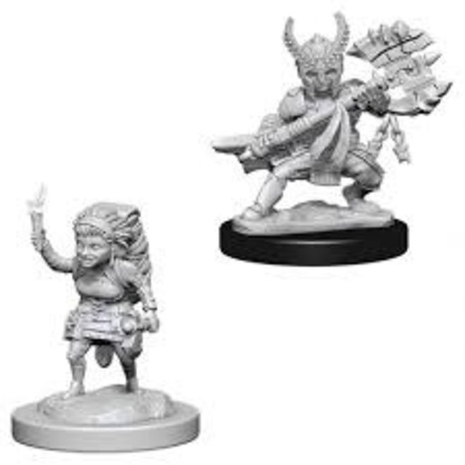 D&D NM: Female Halfling Fighter