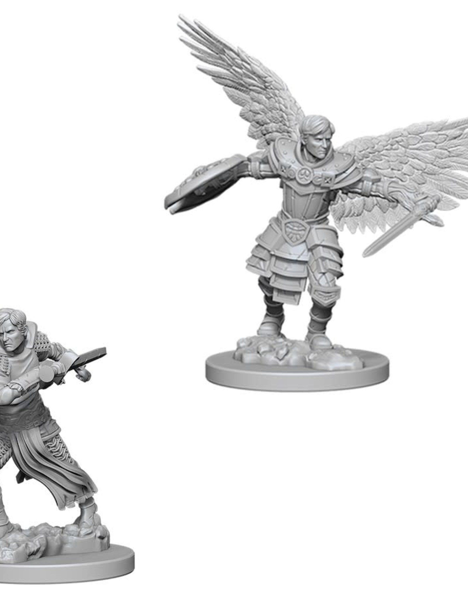 WizKids Dungeons & Dragons Nolzur's Marvelous Miniatures: Wave 6 Male Aasimar Fighter