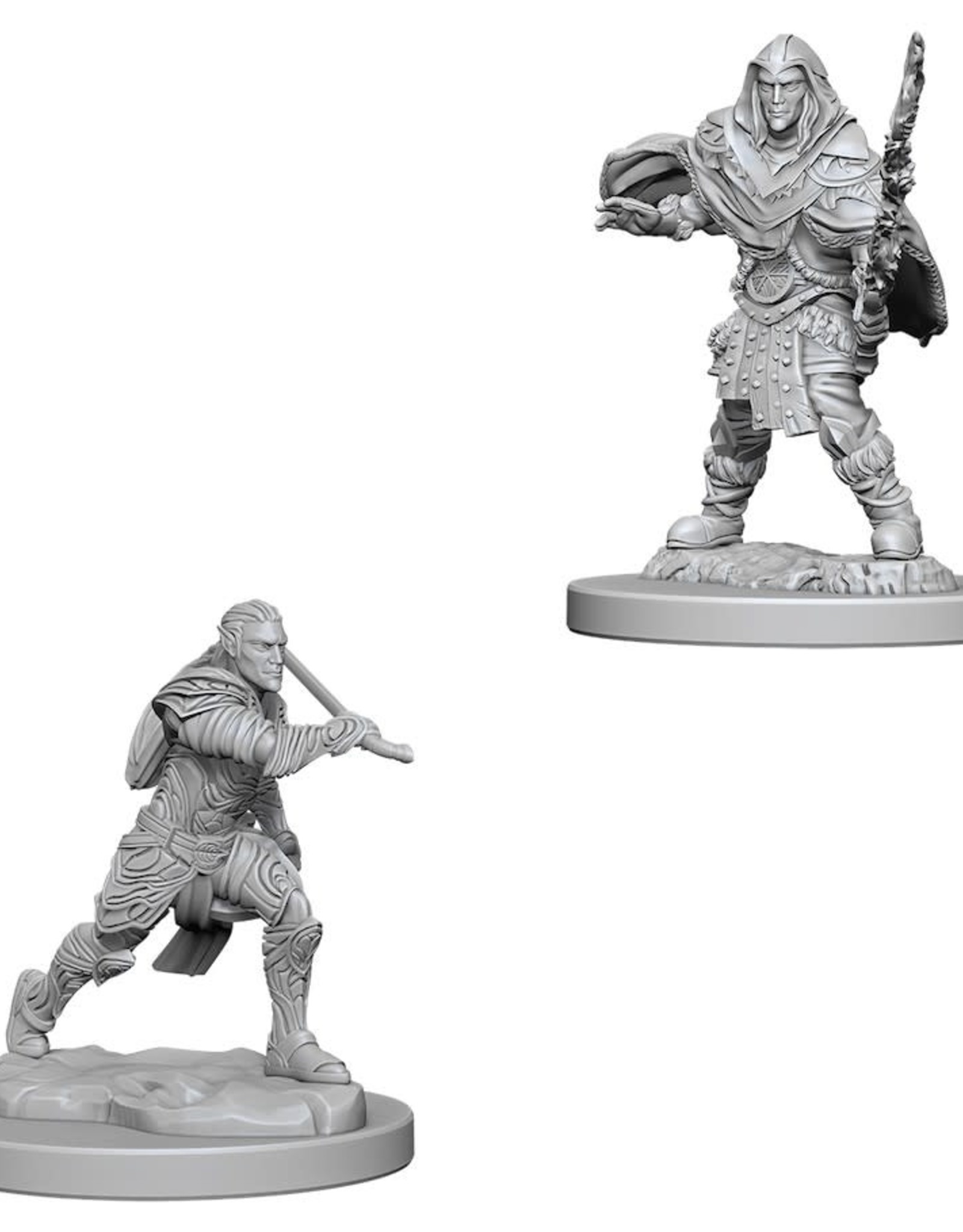 WizKids Dungeons & Dragons Nolzur's Marvelous Miniatures: Male Elf Fighter