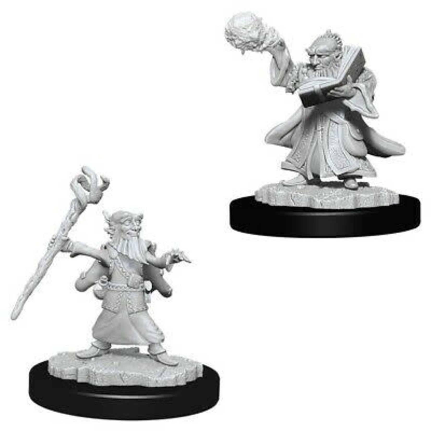 WizKids Dungeons & Dragons Nolzur's Marvelous Miniatures: Male Gnome Wizard