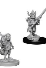 WizKids Dungeons & Dragons Nolzur's Marvelous Miniatures: Male Halfling Fighter