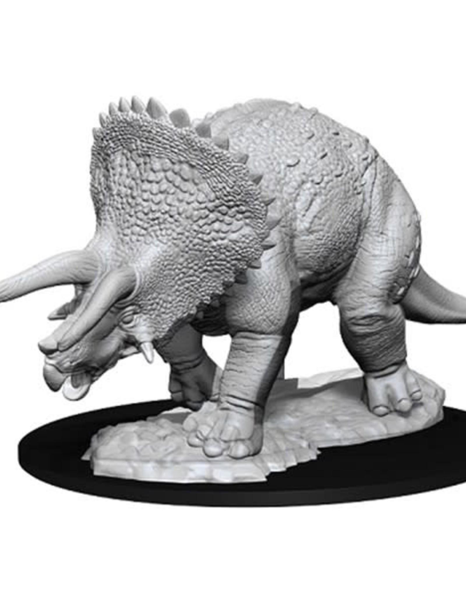 WizKids Dungeons & Dragons Nolzur's Marvelous Miniatures: Triceratops