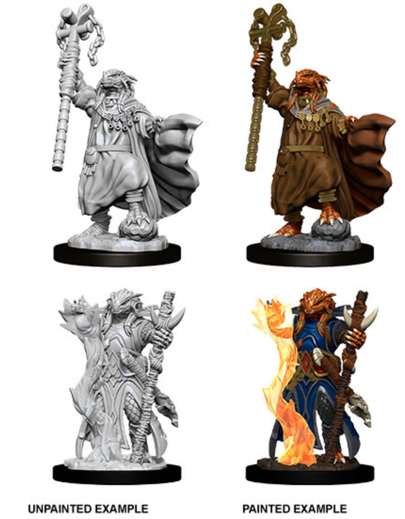 WizKids Dungeons & Dragons Nolzur's Marvelous Miniatures: Dragonborn Female Sorcerer