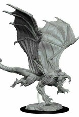 WizKids Dungeons & Dragons Nolzur's Marvelous Miniatures: Young Black Dragon