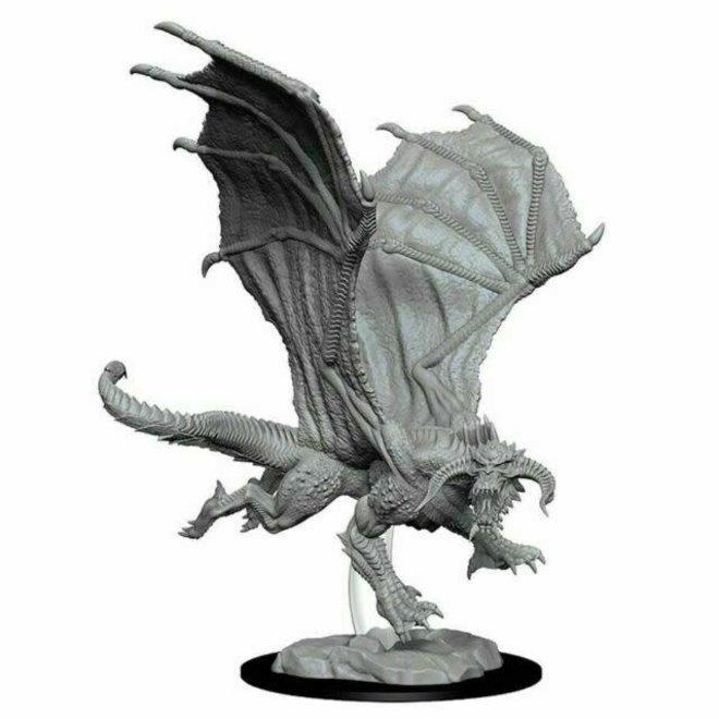Dungeons & Dragons Nolzur's Marvelous Miniatures: Young Black Dragon