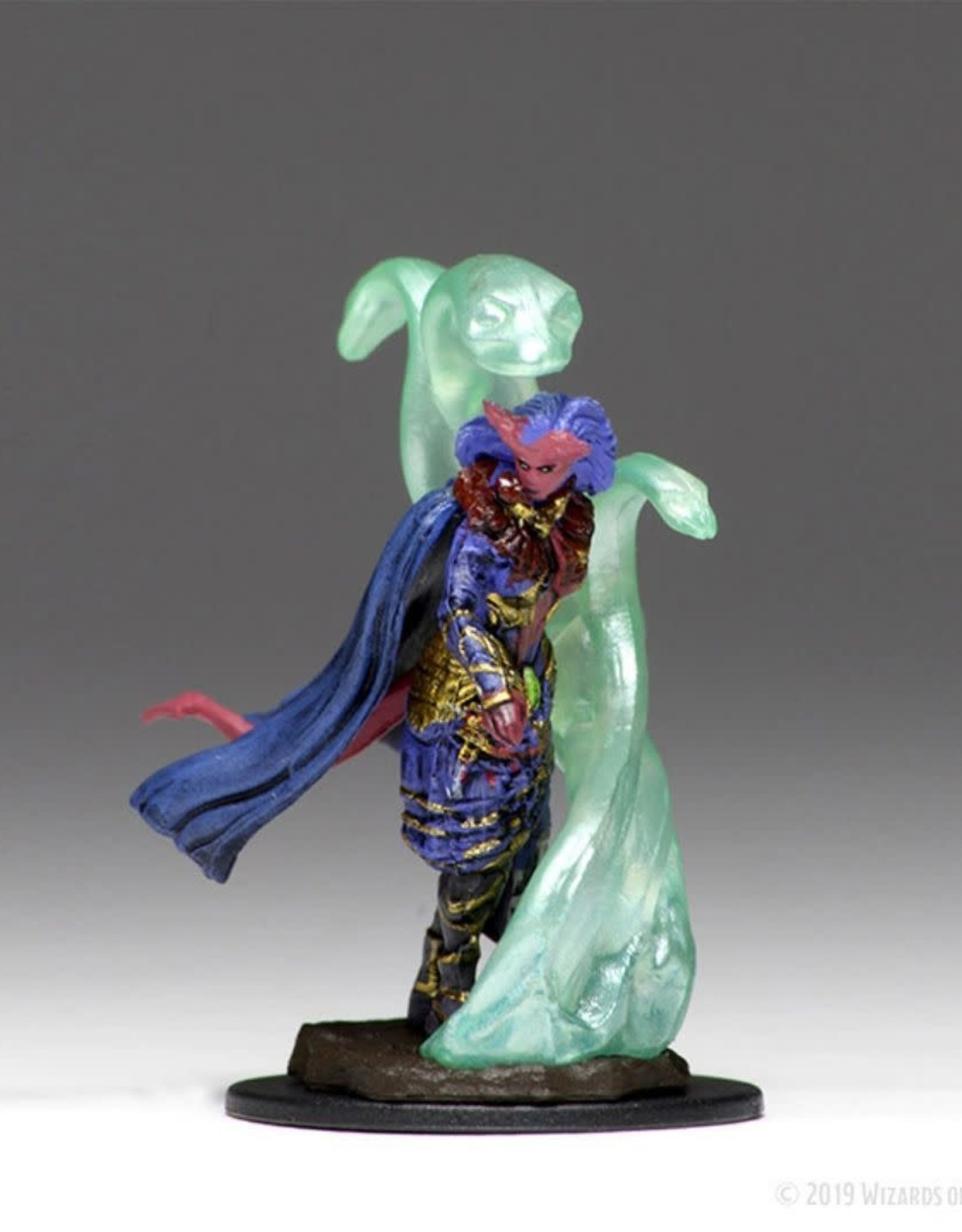 WizKids Dungeons & Dragons Icons of the Realm: Premium Figure: Tiefling Female Sorcerer