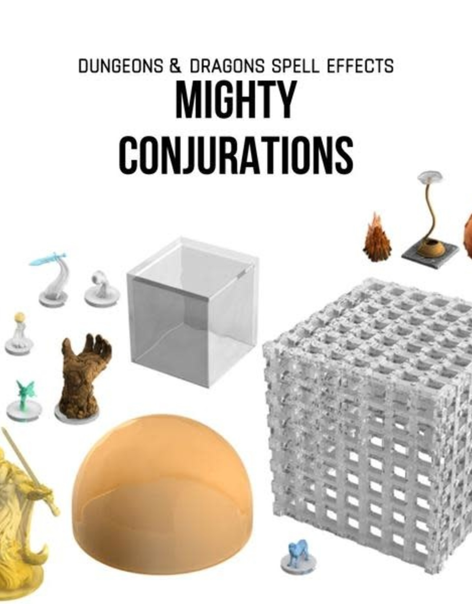 WizKids Dungeons & Dragons Icons of the Realm: Spell Effects: Mighty Conjurations