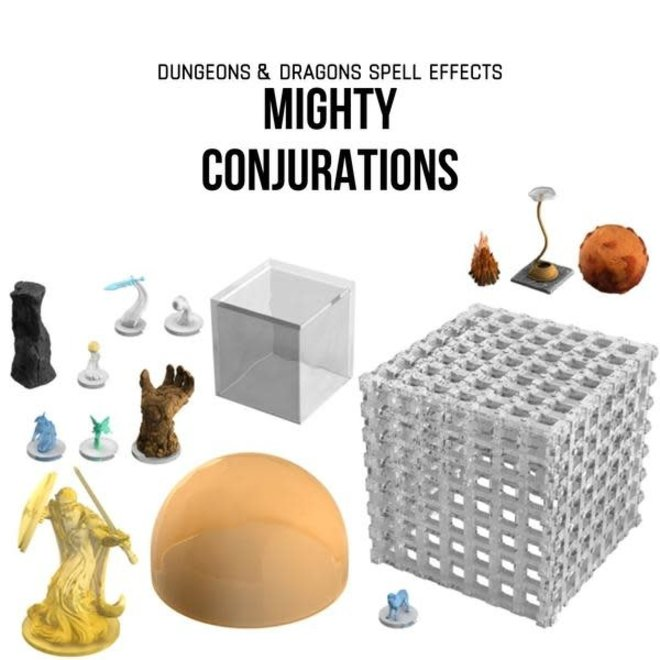 Dungeons & Dragons Icons of the Realm: Spell Effects: Mighty Conjurations