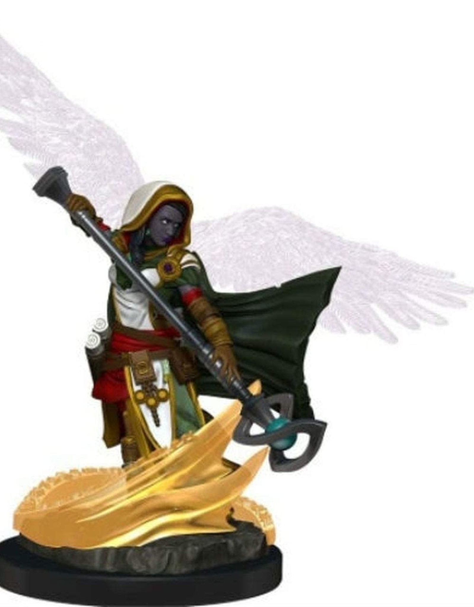 WizKids Dungeons & Dragons Icons of the Realm: Premium Figure: Female Aasimar Wizard