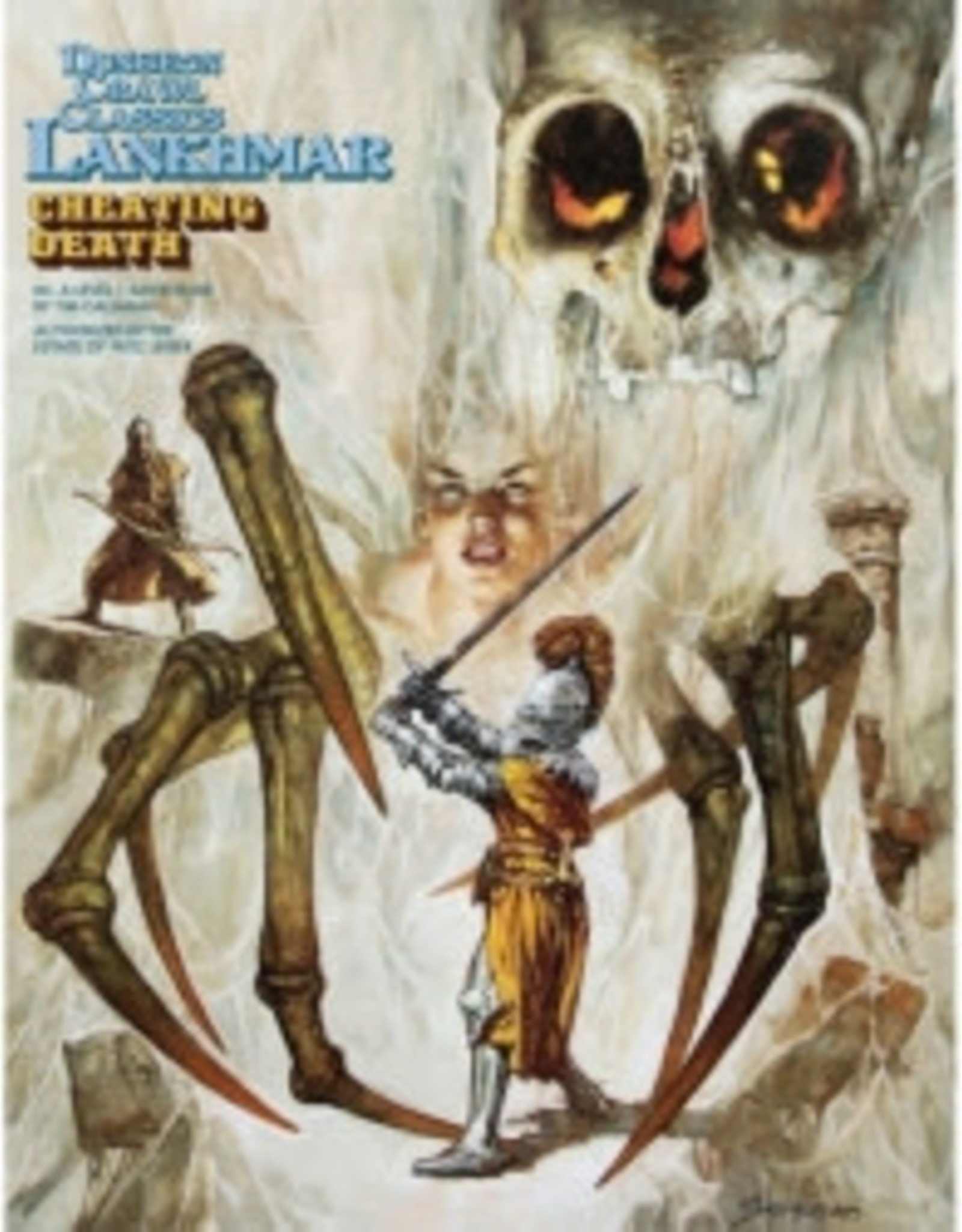 Goodman Games Dungeon Crawl Classics Lankhmar #6 Cheating Death