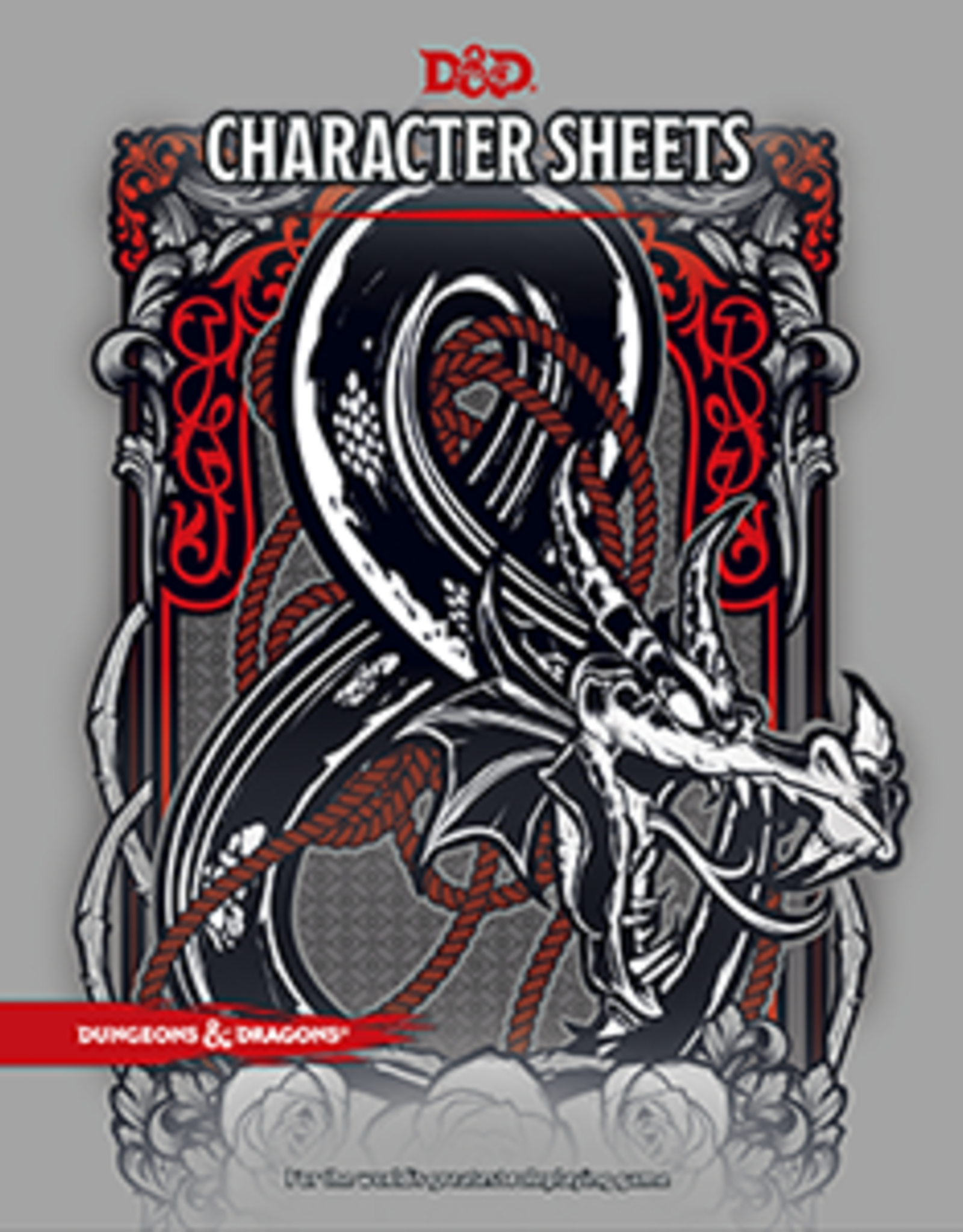 Wizards of the Coast Dungeons and Dragons - Character Sheets with Folio