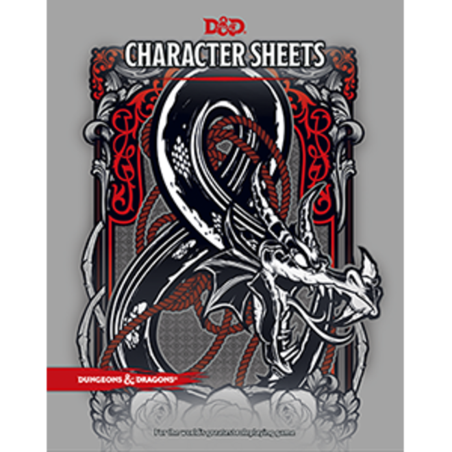 Dungeons and Dragons - Character Sheets with Folio