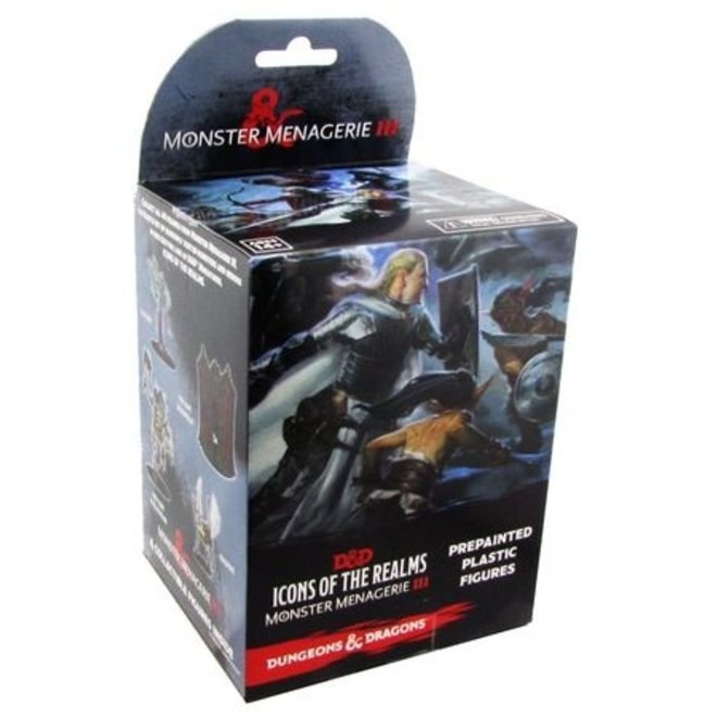 Dungeons & Dragons Icons of the Realms: Monster Menagerie 3 Booster Box
