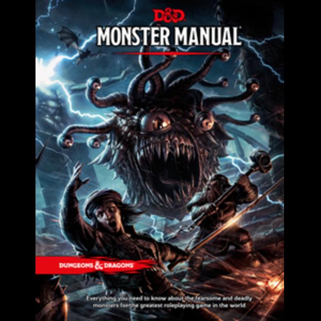 D&D: 5E - Monster Manual