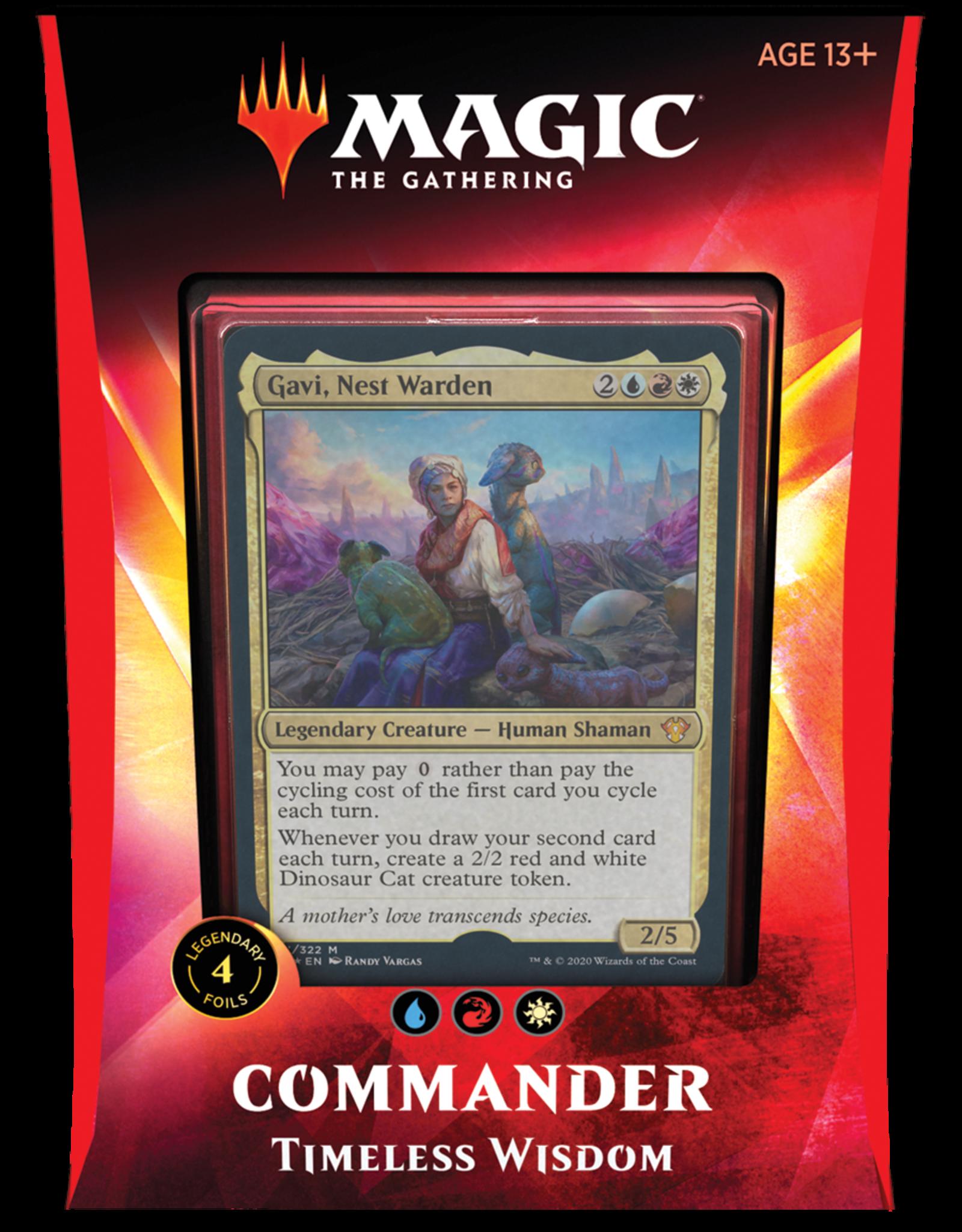 Wizards of the Coast Magic: The Gathering | Ikoria Commander Deck - Gavi, Nest Warden