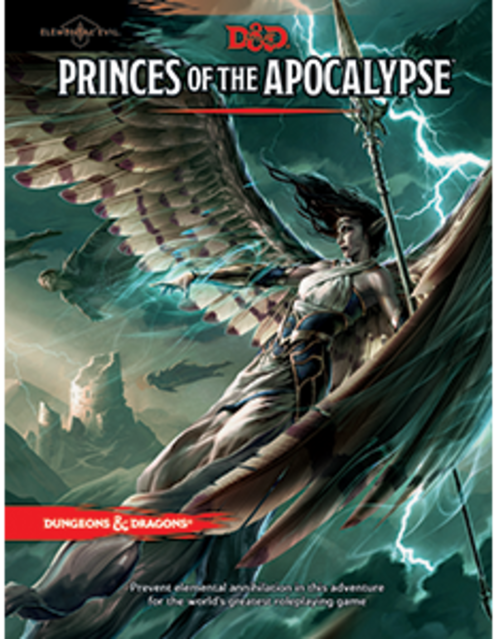 Wizards of the Coast Dungeons & Dragons 5E- Elemental Evil: Princes of the Apocalypse