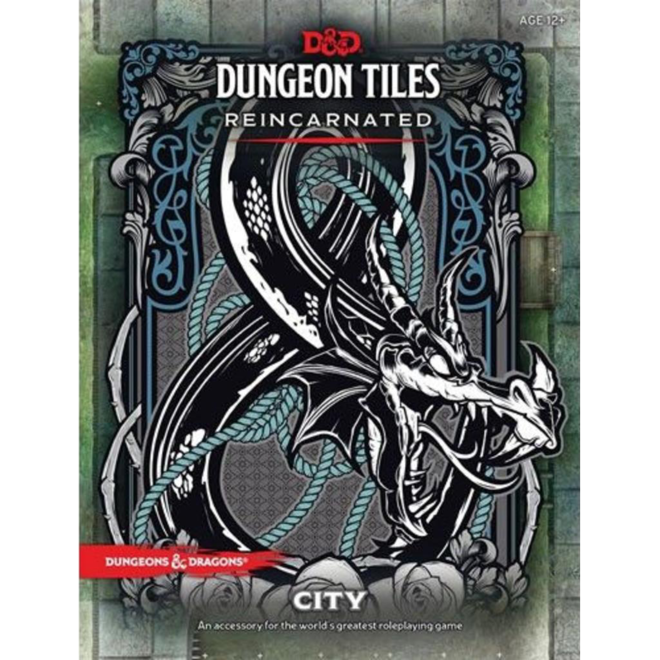 D&D - Dungeon Tiles: Reincarnated - City