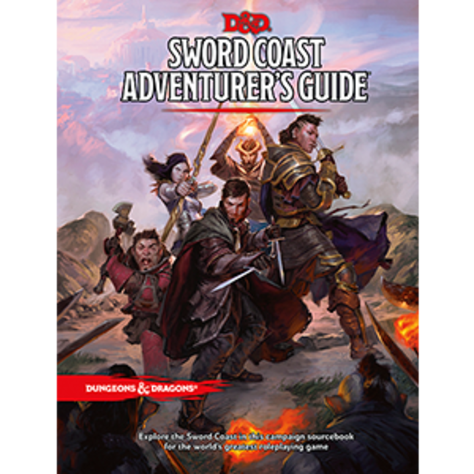 Wizards of the Coast Dungeons & Dragons 5E - Sword Coast Adventurer's Guide