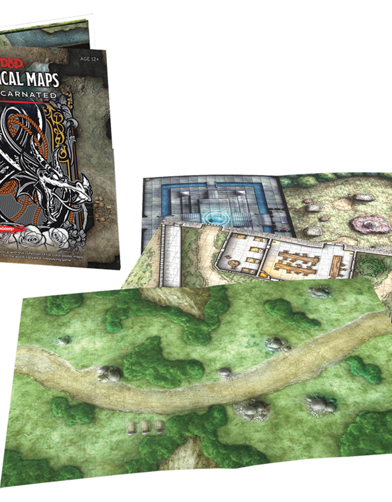 Wizards of the Coast Dungeons & Dragons - Tactical Maps: Reincarnated