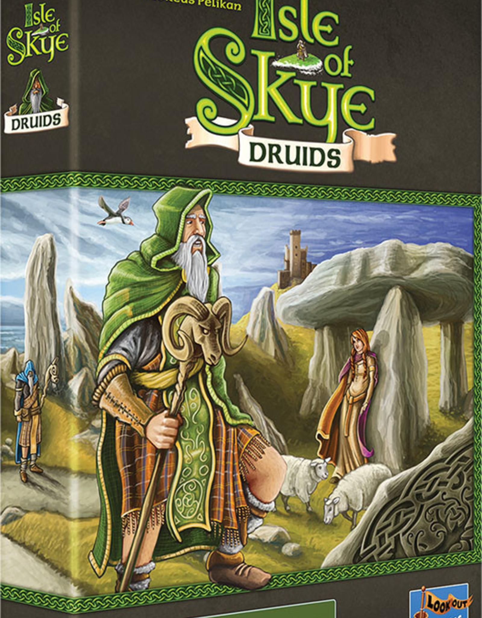 Lookout Games Isle of Skye: Druids Expansion