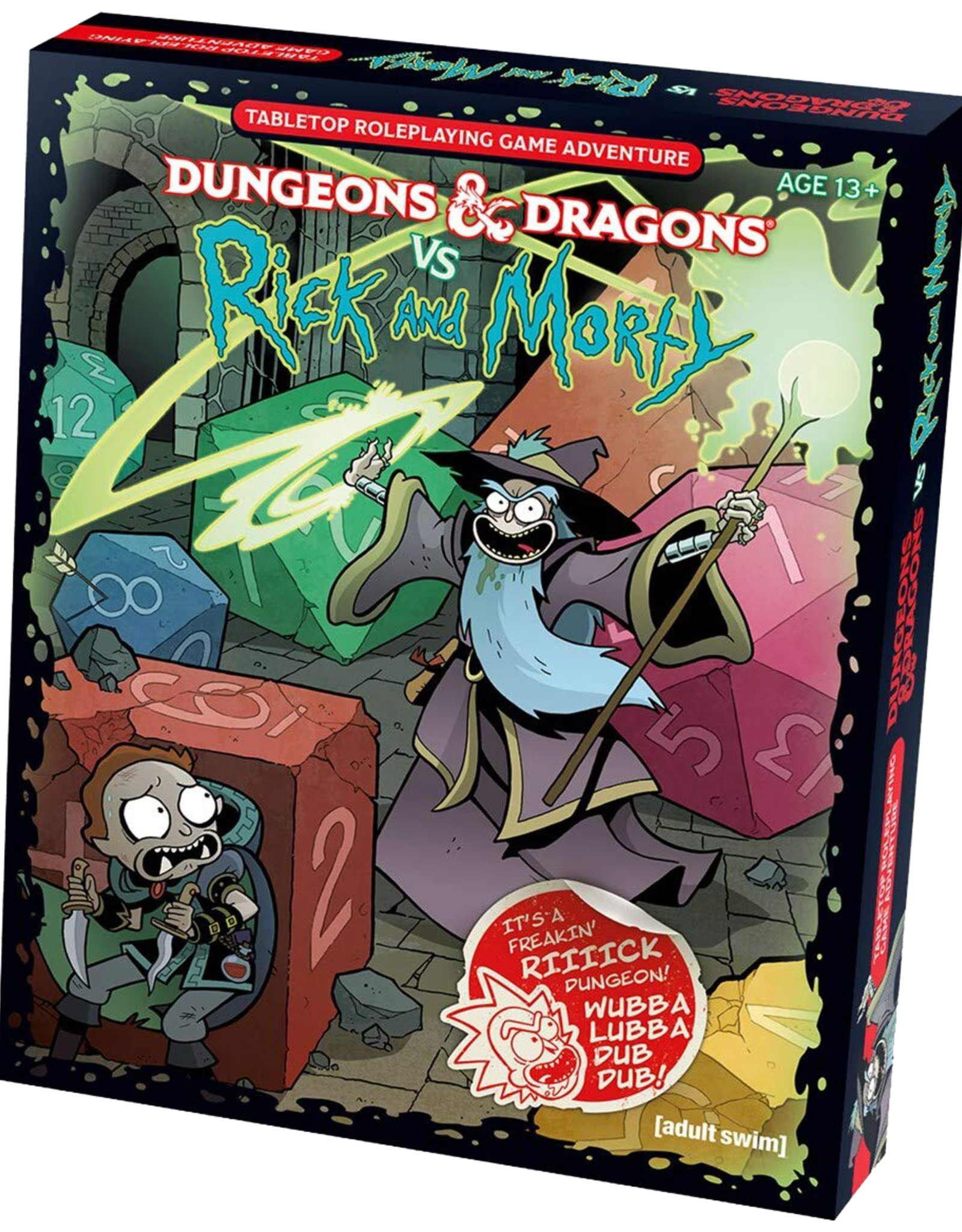 Wizards of the Coast D&D - Dungeons & Dragons vs Rick & Morty