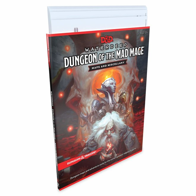 D&D: 5E Waterdeep - Dungeon Of The Mad Mage Maps and Miscellany