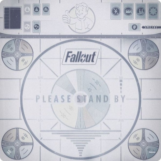 Fallout: The Board Game - Please Stand By Gamemat