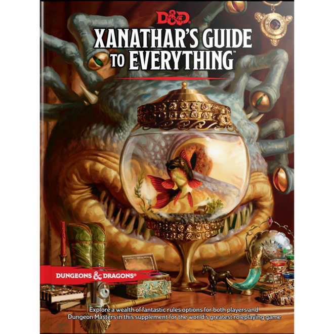 D&D: 5E - Xanathar's Guide To Everything