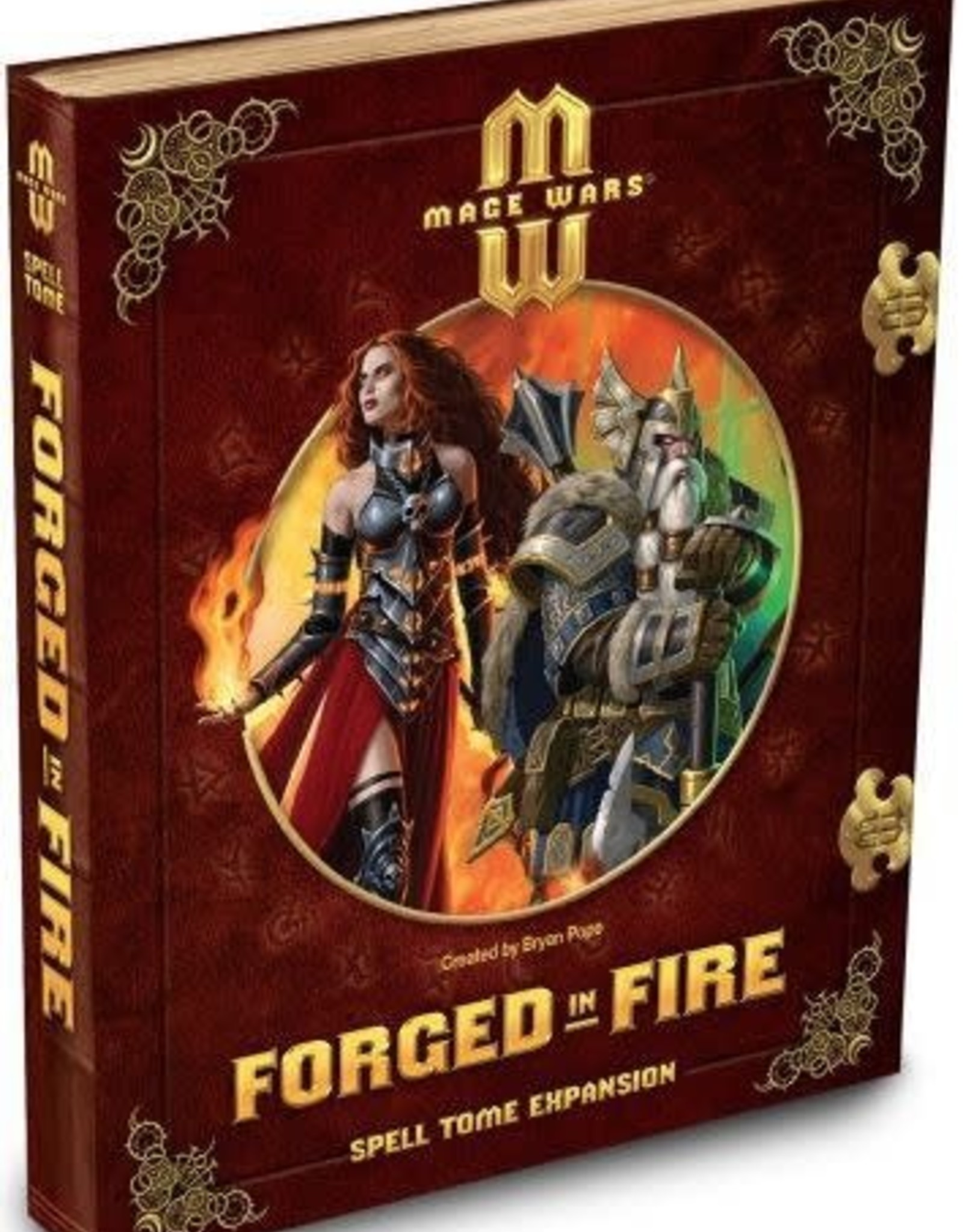 Arcane Wonders Mage Wars: Forged in Fire Spell Tome Expansion