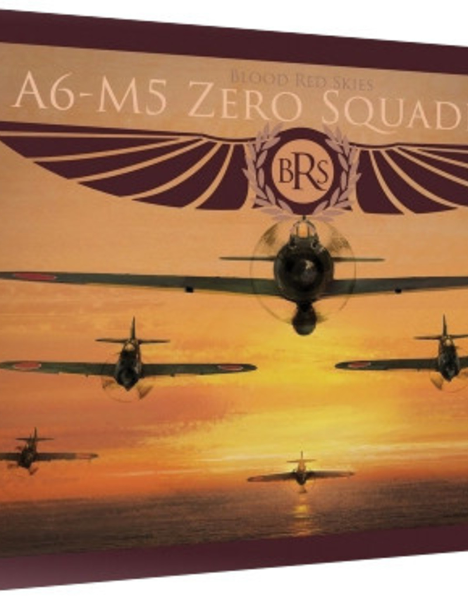 Warlord Games Blood Red Skies: Japanese A6MX `Zero-Sen` - 6 Planes