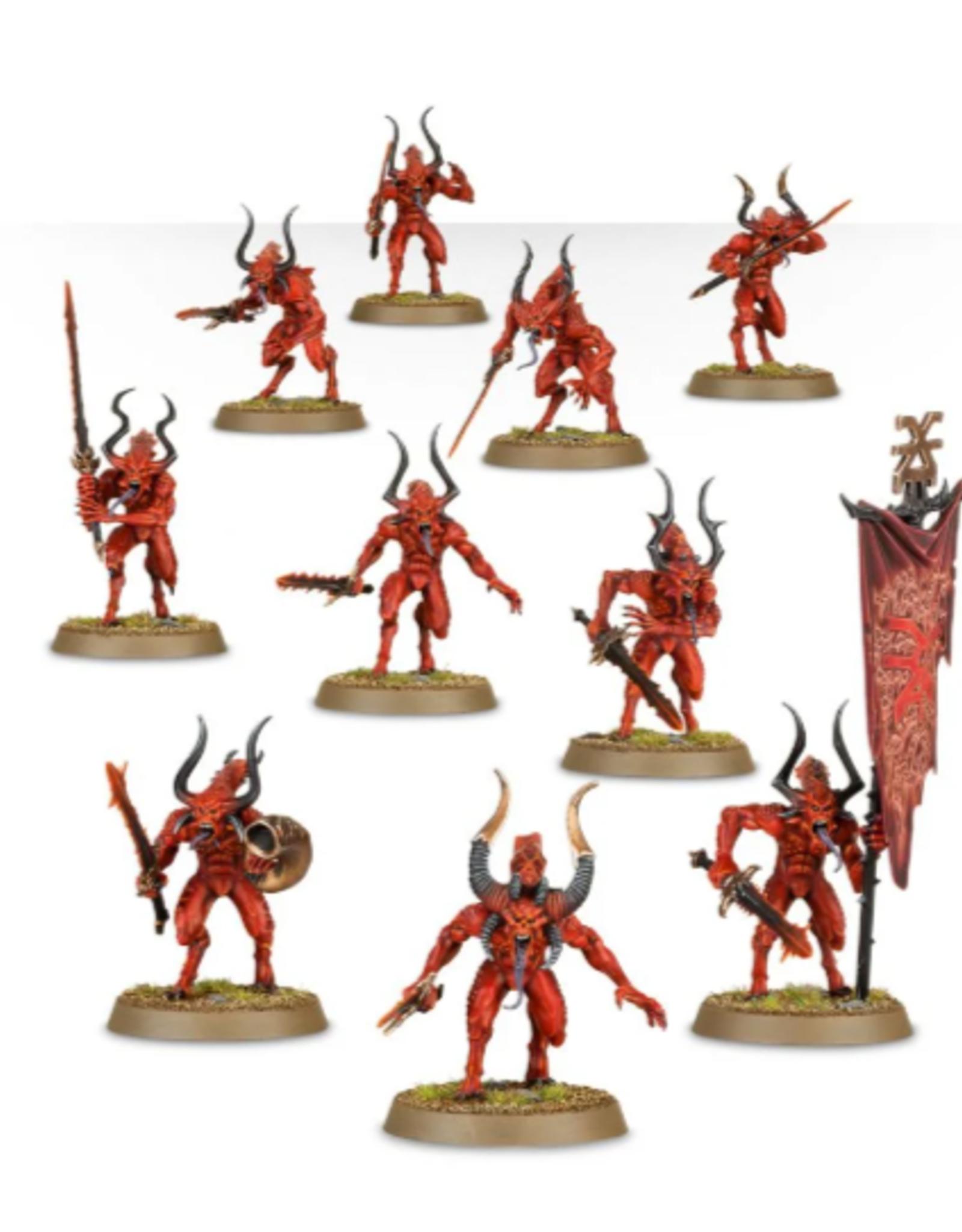 Games Workshop Daemons  Of Khorne: Bloodletters