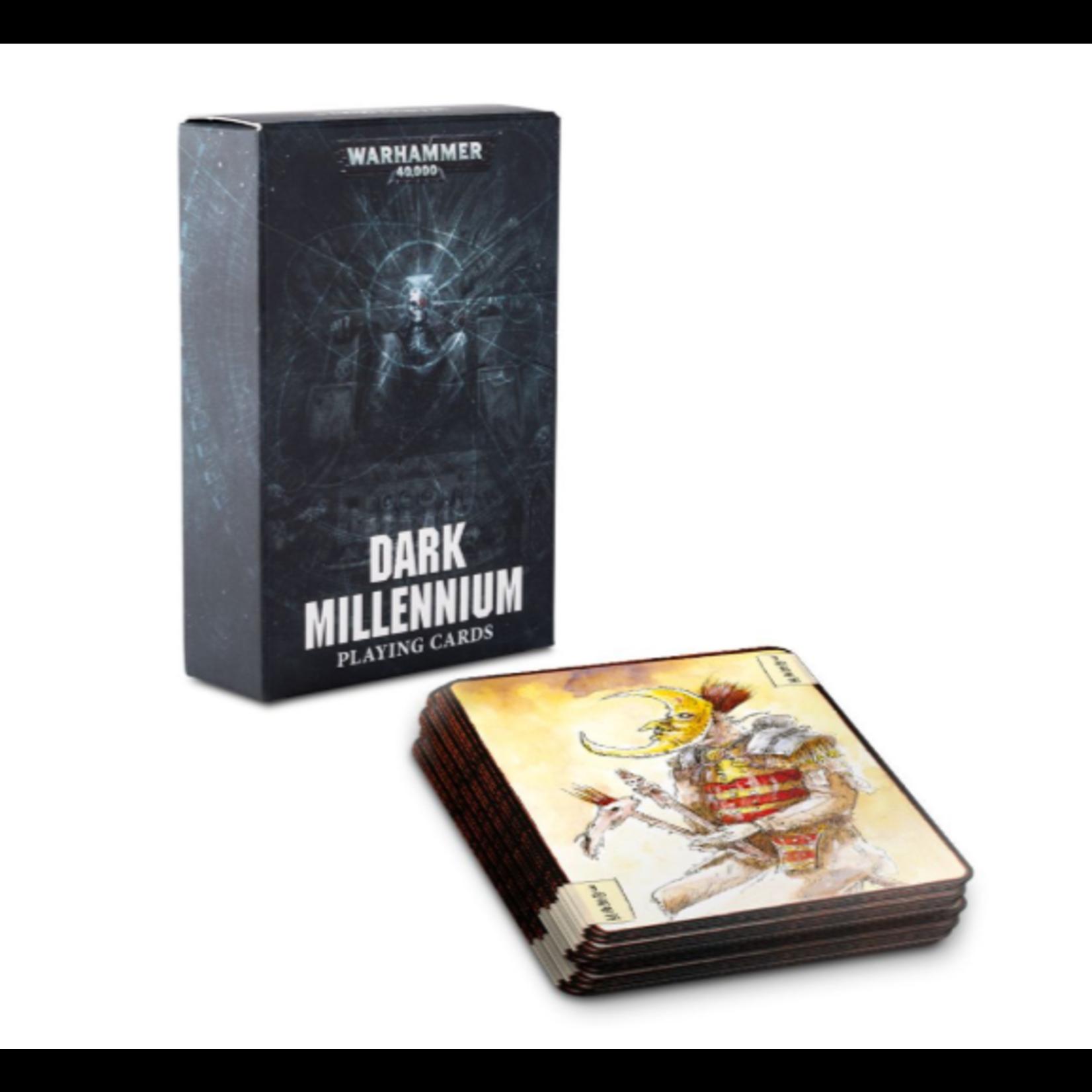Games Workshop DARK MILLENNIUM  PLAYING  CARDS