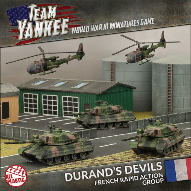 Team Yankee - World War III | Durand's Devils (Plastic Army Deal)