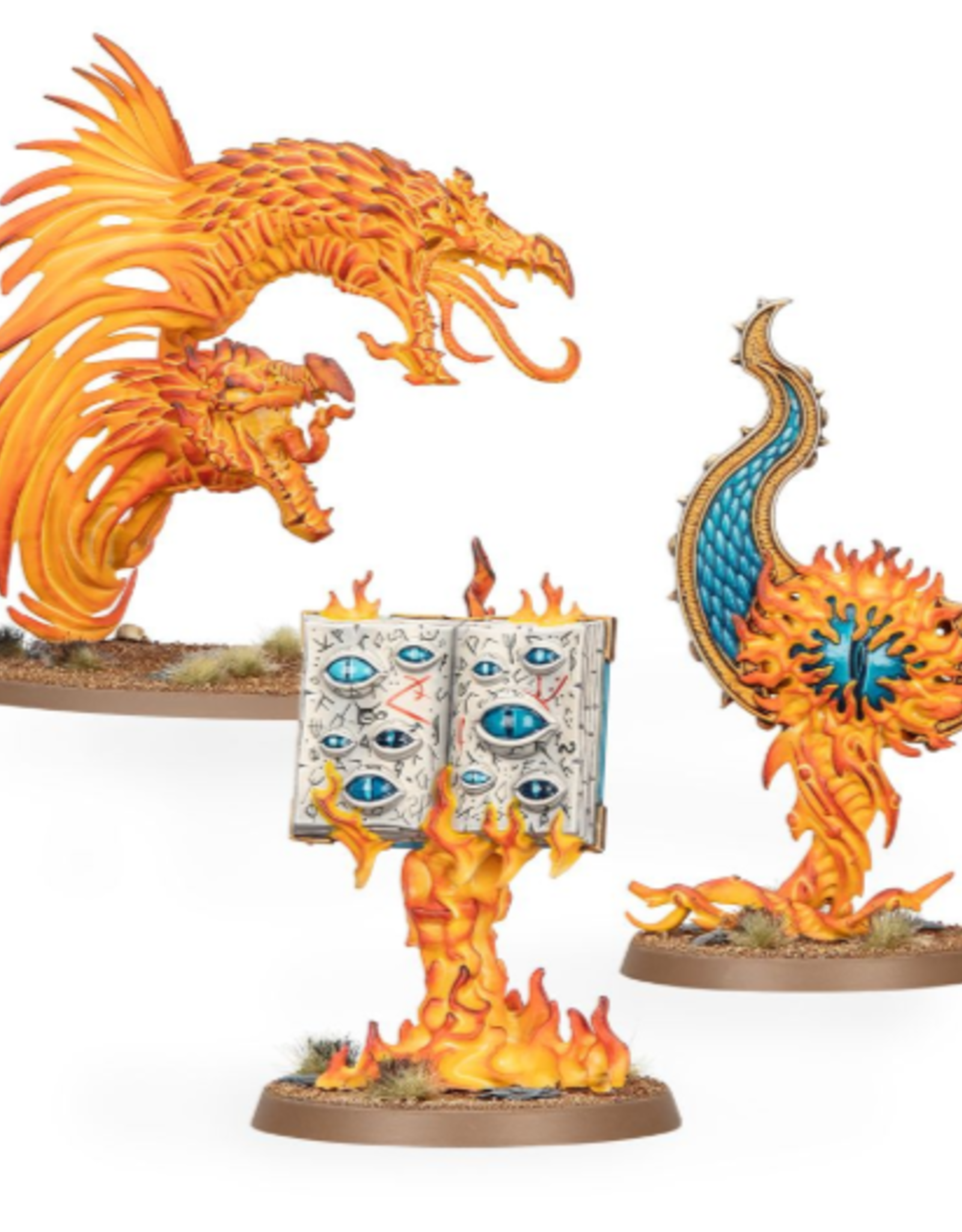 Games Workshop Endless Spells:  Disciples  Of Tzeentch