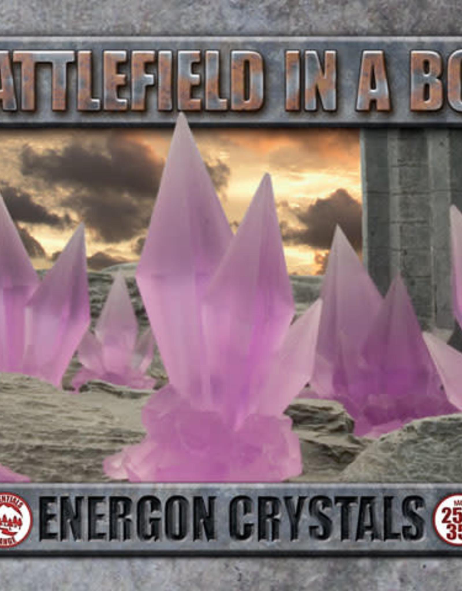 Gale Force Nine Energon Crystals - Purple - (x6) - 30mm