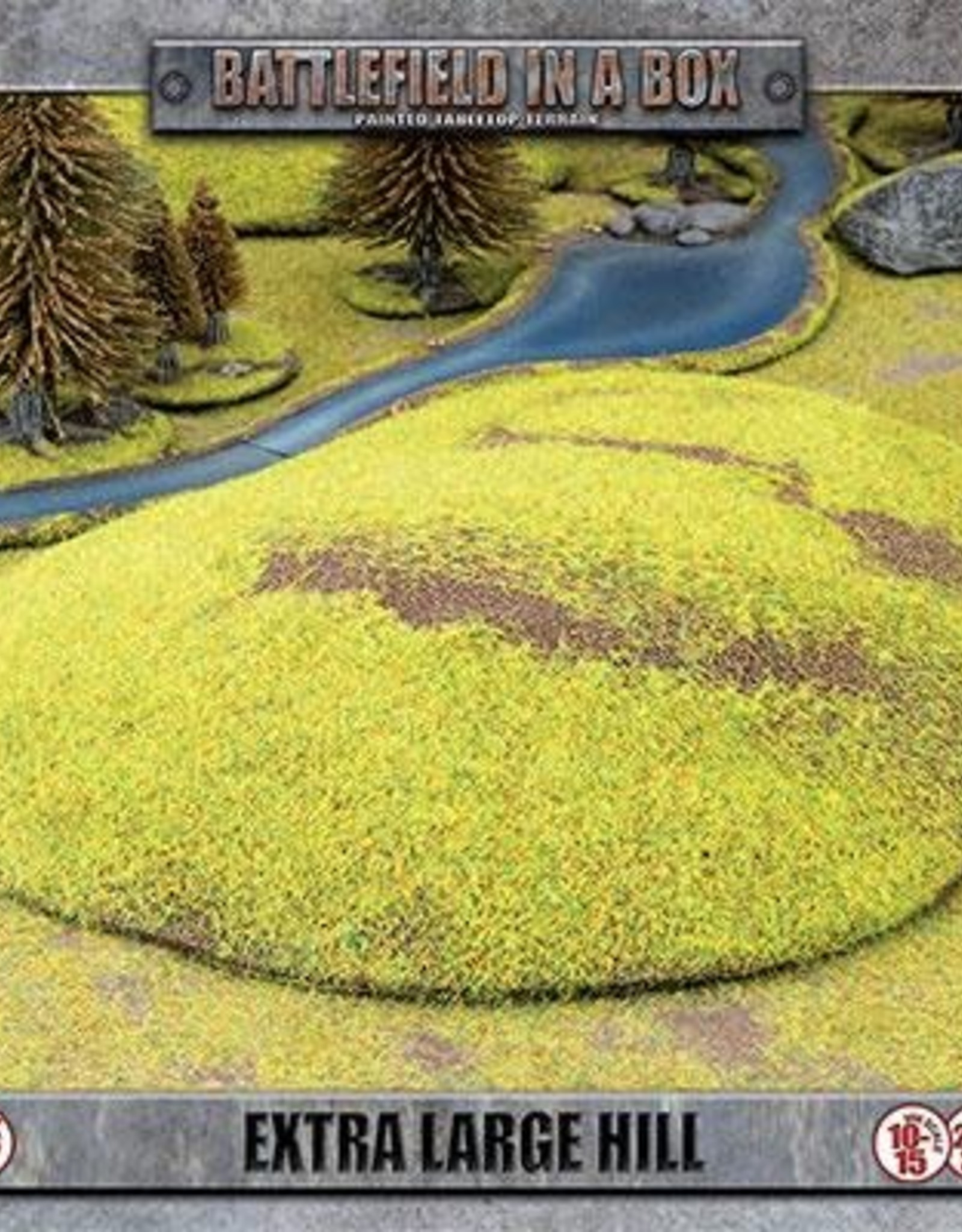 Gale Force Nine Extra Large Hill (x1) - 15mm/30mm