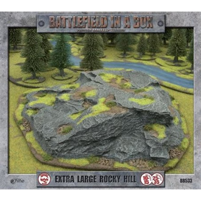 Extra Large Rocky Hill (x1) - 15mm/30mm