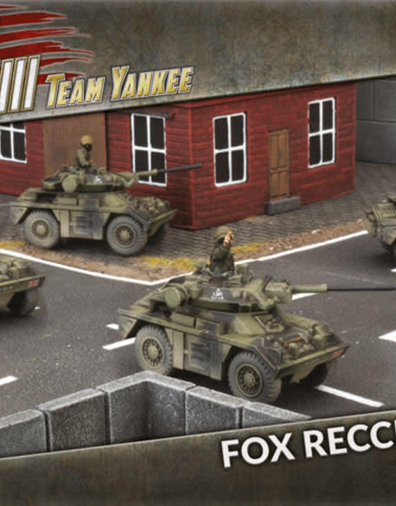 Battlefront Miniatures Ltd Team Yankee - World War III   Fox Recce Troop