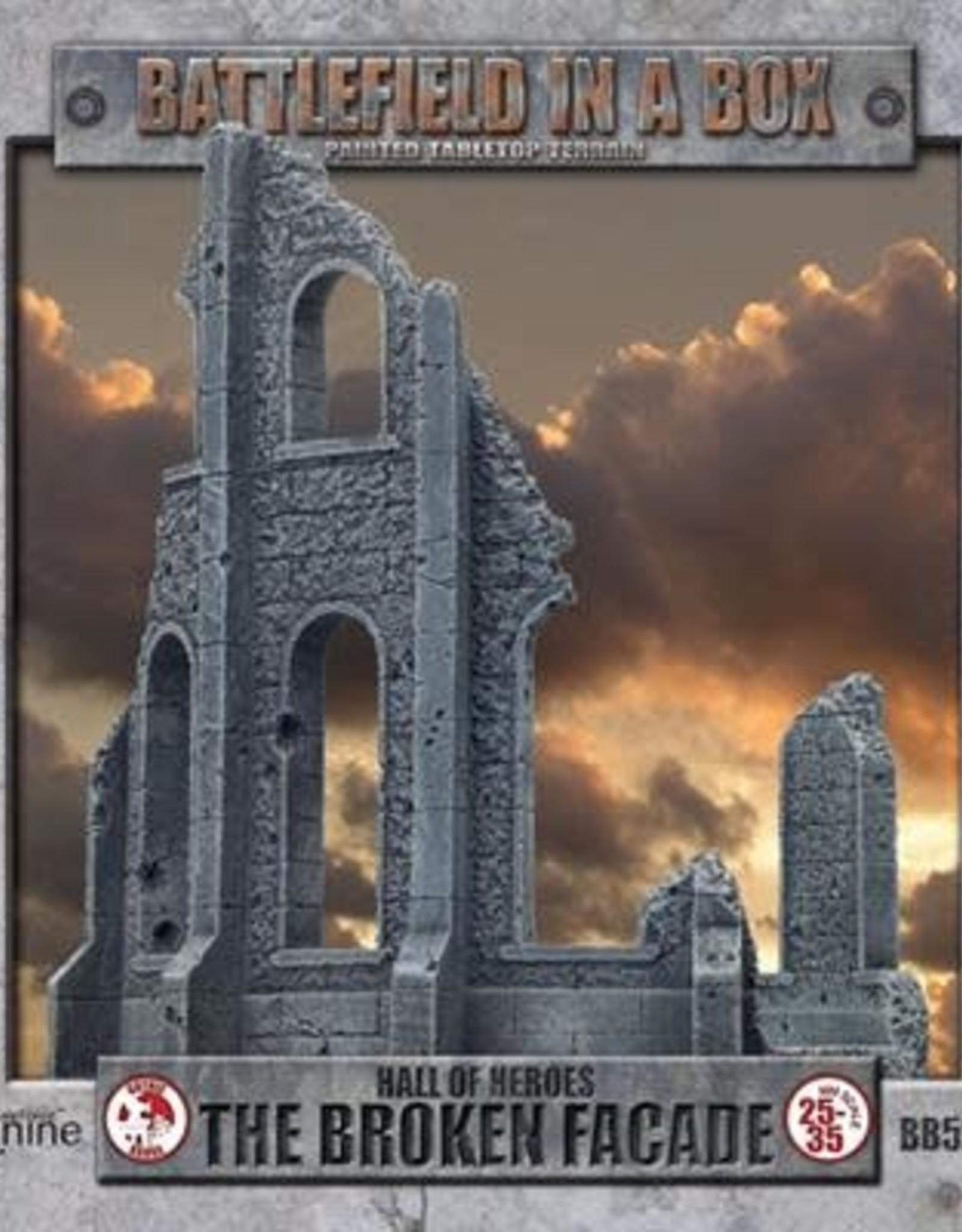 Gale Force Nine Gothic Battlefields - Broken Facade 30mm