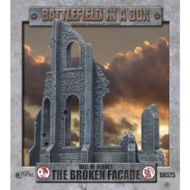Gothic Battlefields - Broken Facade 30mm