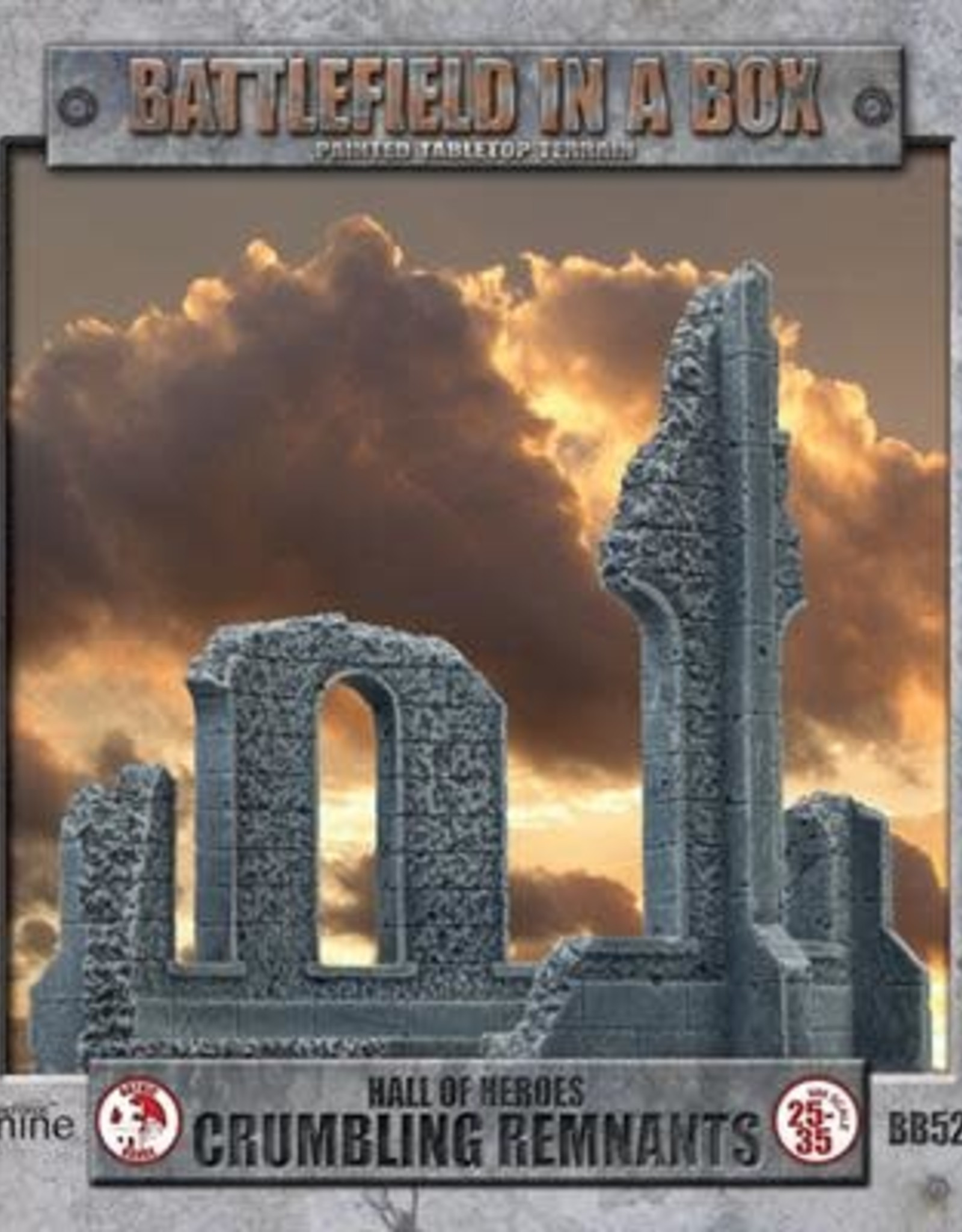 Gale Force Nine Gothic Battlefields - Crumbling Remnants 30mm