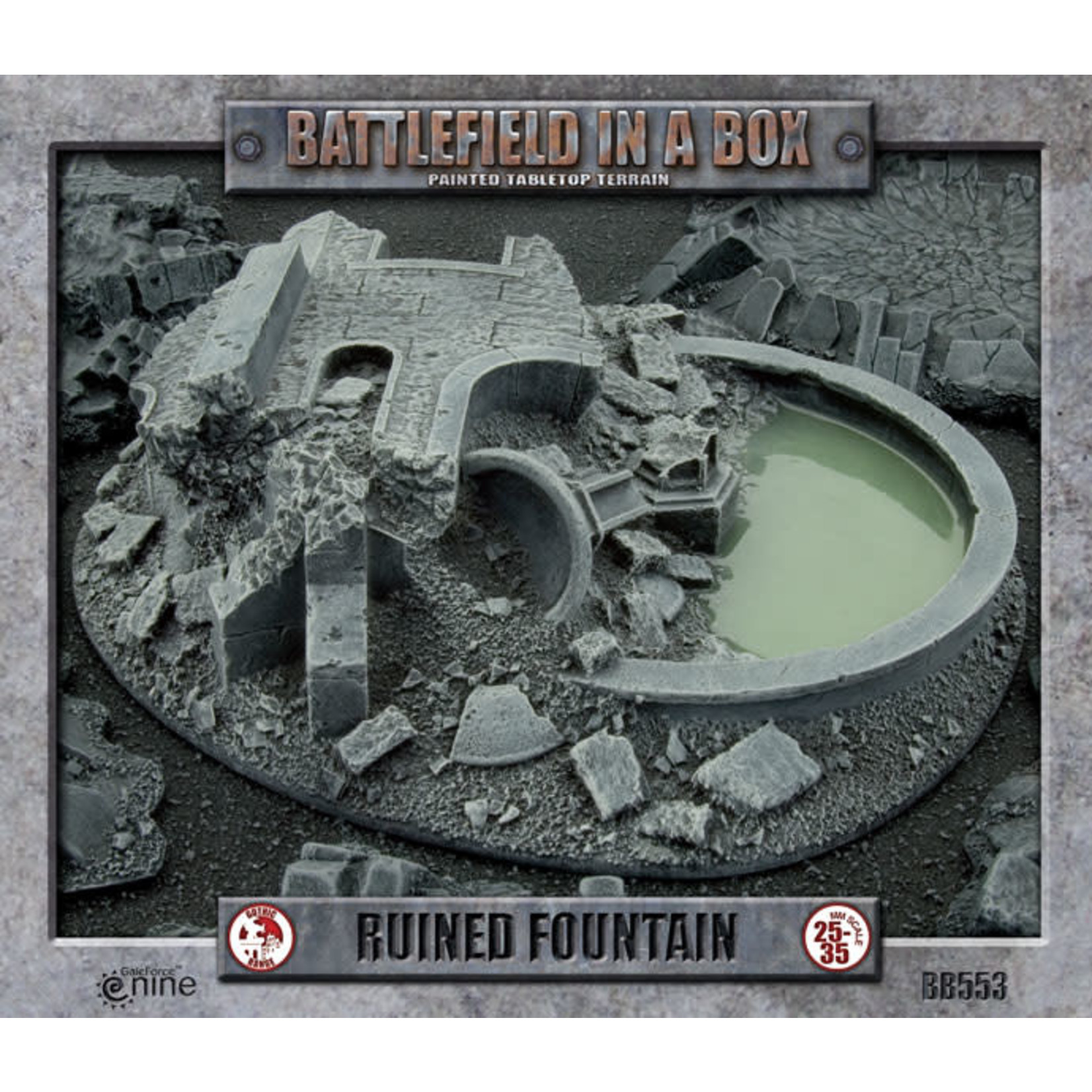 Gale Force Nine Gothic: Ruined Fountain