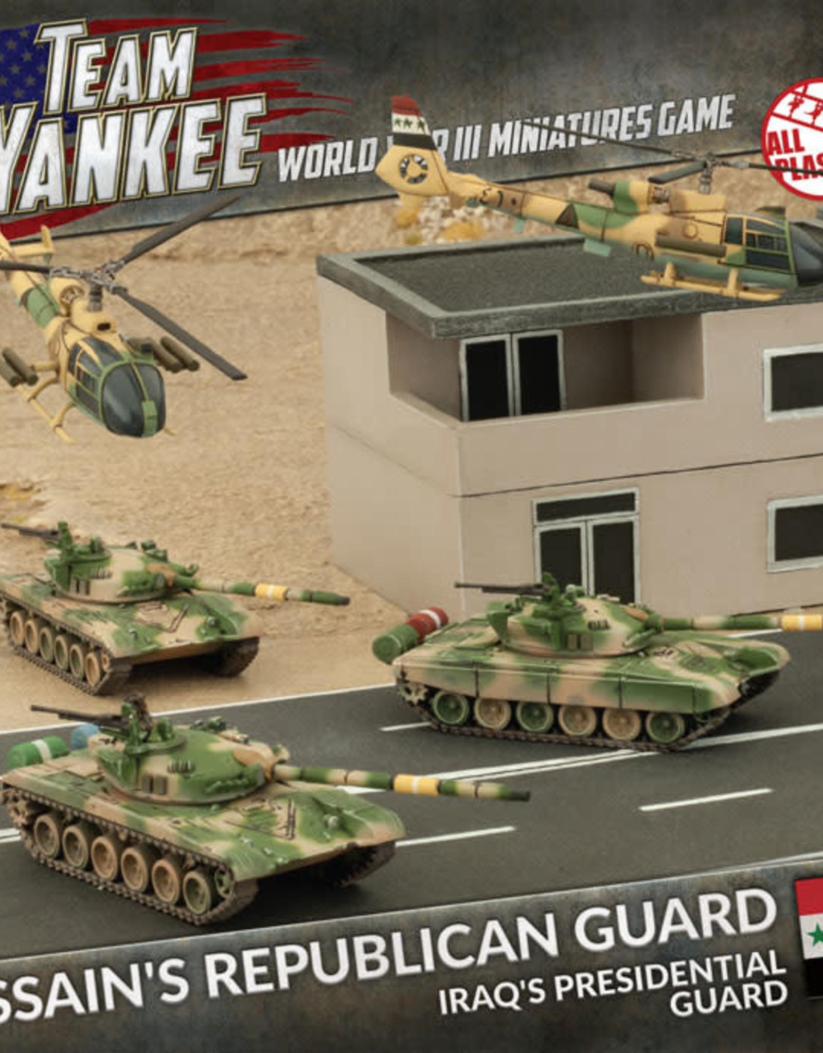 Battlefront Miniatures Ltd Team Yankee - World War III | Hussein's Republican Guard (Plastic Army Deal)