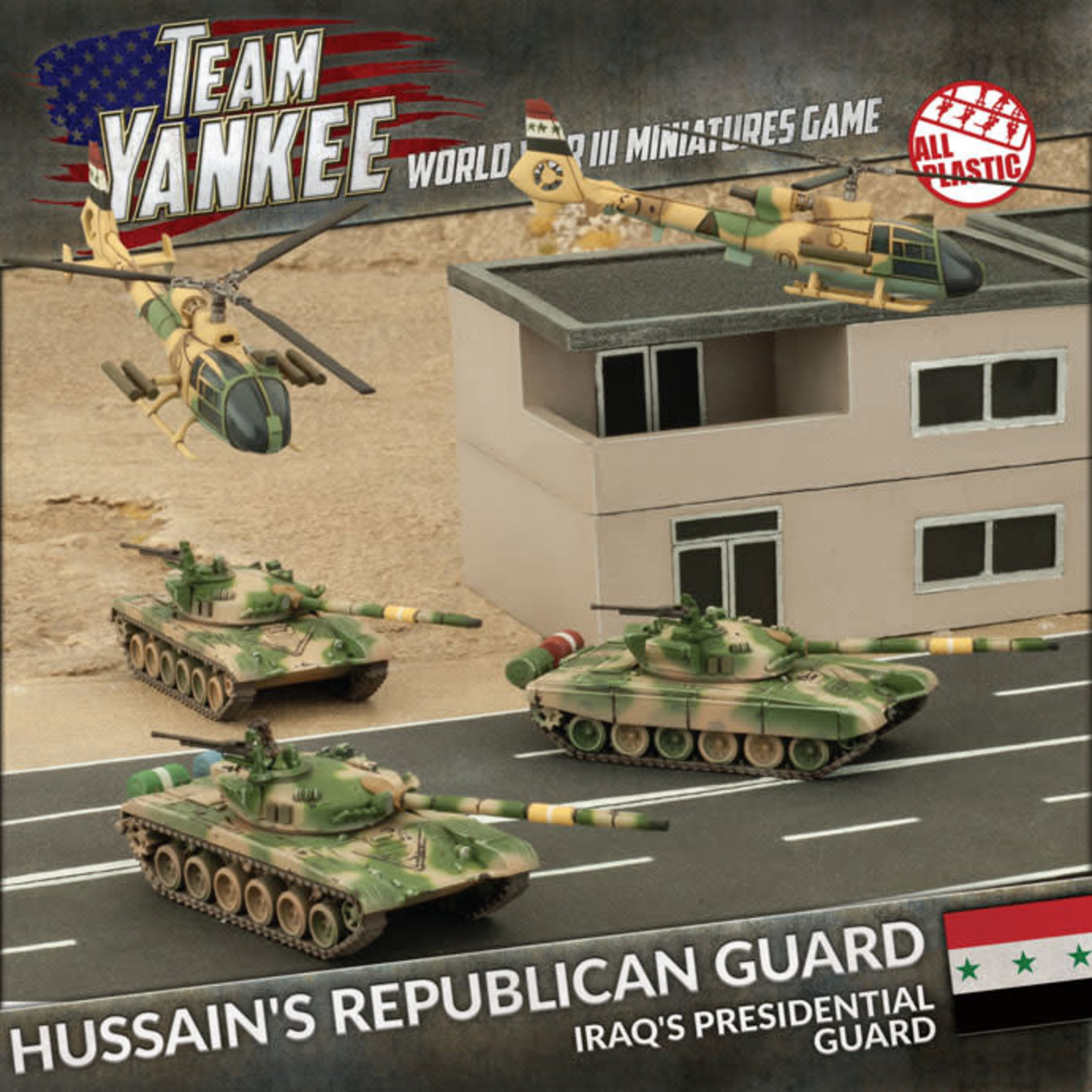 Battlefront Miniatures Ltd Team Yankee - World War III | Hussein's Republican Guard (Plastic Army Deal)
