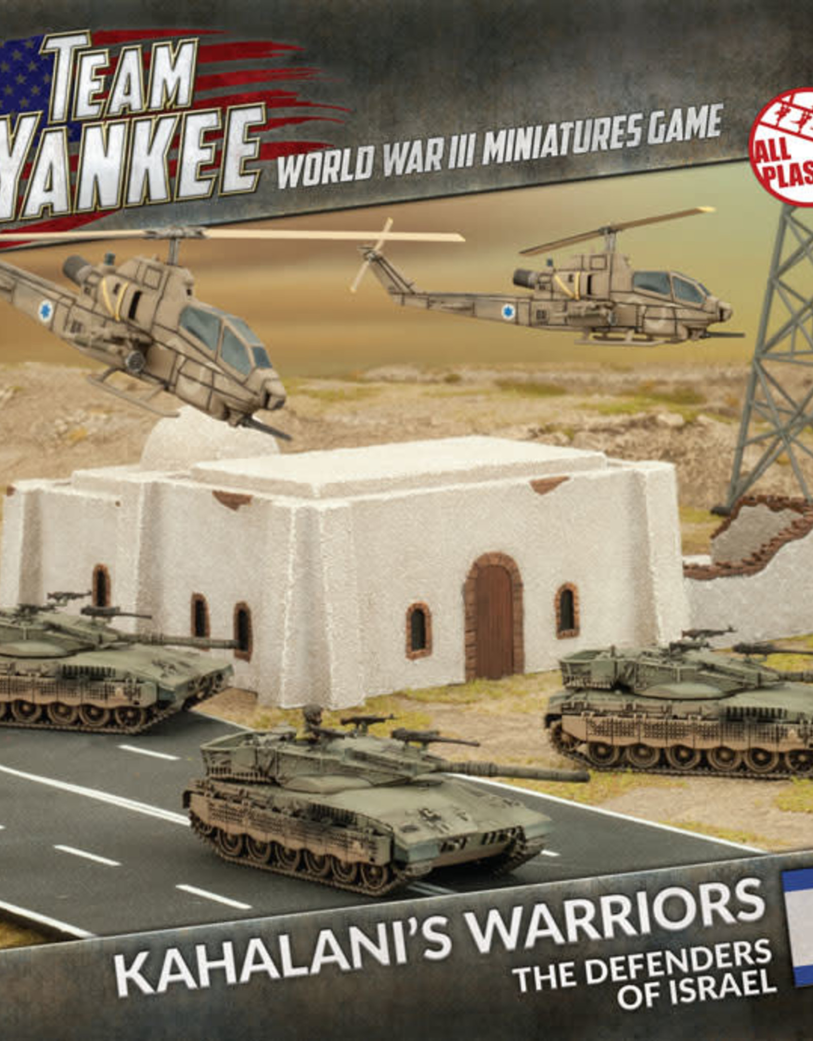 Battlefront Miniatures Ltd Team Yankee World War III | Kahalani's Warriors (Plastic Army Deal)