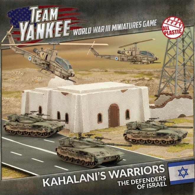 Team Yankee World War III | Kahalani's Warriors (Plastic Army Deal)