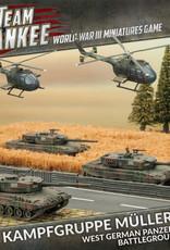 Battlefront Miniatures Ltd Team Yankee - World War III | Kampfgruppe Muller (Plastic Army Deal) - 2017